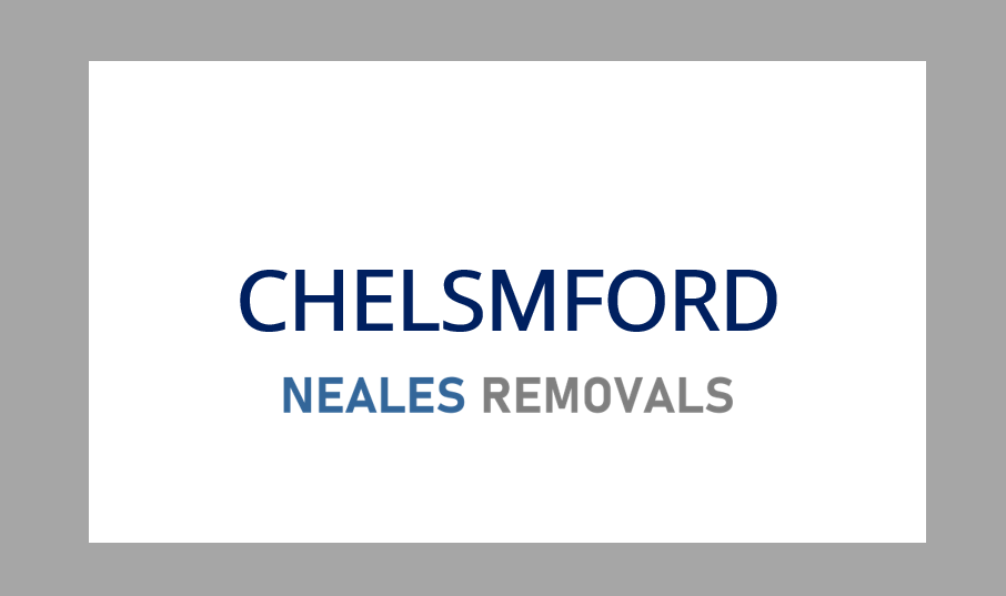 Home Removal CHELMSFORD, Neales Removals, Essex