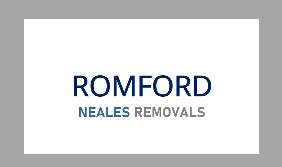 Home Removal ROMFORD, Neales Removals, Essex