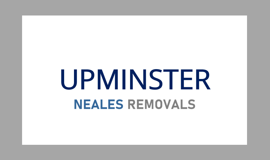 Home Removal UPMINSTER, Neales Removals, Essex